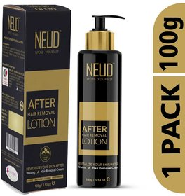 NEUD After Hair Removal Lotion for Skin Care in Men  Women 1 Pack (100 gm)
