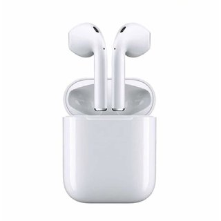 Easybigdeals Bluetooth 5.0 Wireless Earphone with Portable Charging Case Supporting iOS and Android Phones with Sensor