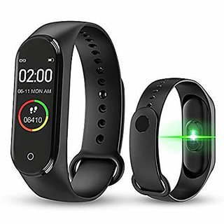 Easy Big M4 Smart Band Fitness Tracker Watch Heart Rate with Activity Tracker Waterproof Body Functions