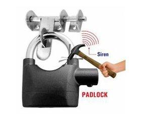 AntiTheft Security System Siren Alarm Lock 110Db For Door Motor Bike Bicycle Padlock