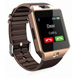 HatHot DZ09 Bluetooth Smart Watch With Touchscreen (Brown)