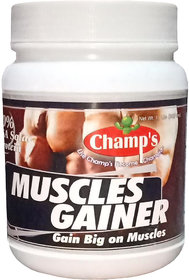 Champs Muscles Gainer (Chocolate Brownie) 500g