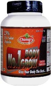 Champs Nutrition Choco Temptation USA Solac Protein No.1 Body Grow Powder (2kg)