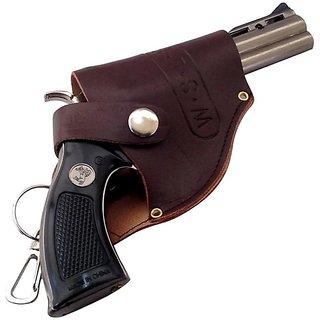 Cigarette gun lighter with cover