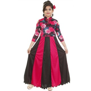 Partywear Rose gown for girls