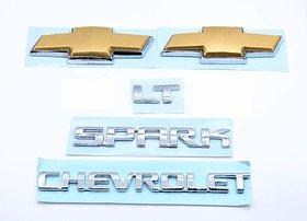 Car Monogram Emblem Decals Logo For Chevrolet Spark Lt