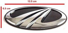 Car Monogram Emblem Decals Logo For Mahindra Bolero Rear Logo(12.5 Cm6.5 Cm Approx)