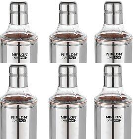 NIRLON 800 ml Cooking Oil Dispenser Set (Pack of 6)