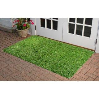 Jainco High Density Artificial Grass Mat for Lawn,Door (40x60cms)
