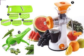 9 In 1 Plastic Fruit & Vegetable Juicer by Darkpyro