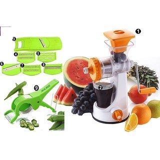 9 In 1 Plastic Fruit & Vegetable Juicer by Darkpyro