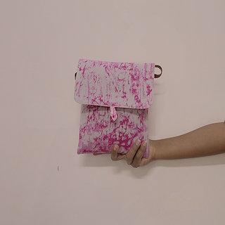 Cotton Printed Fabric Shoulder Flap Sling Bag