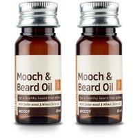 Ustraa Mooch Beard Oil  Set of 2   70 ml