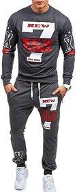 Trendyz Men Grey Track Pant With T-Shirt