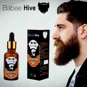 Babeehive Godfather Beard Lite Hair Oil  (35 ml)