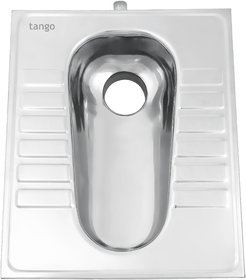 TANGO Orissa Pan / Indian Seat 19x23 inch, 483 x 585mm,Stainless Steel