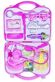 Doctor Set Children Educational Toys Baby Toy Children Medical Kit Doctor Play Doctors Set ( Pink )