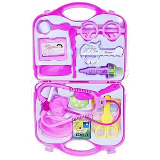 Doctor Set Children Educational Toys Baby Toy Children Medical Kit Doctor Play Doctors Set ( Pink )