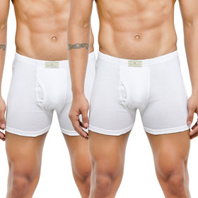 Bonjour Mens Mid-Rise  Trunks-Pack of 2
