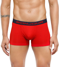Bonjour Mens Mid-Rise  Trunk With Elasticated Band