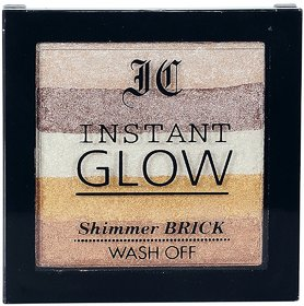 Instant Glow Makeup Highlighter Shimmer Brick-05 With 1 Makeup Brush