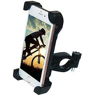 Mobile Phone Holder for Bike, Universal Adjustable Silicon Cell Phone Holder for Bicycle Motorcycle