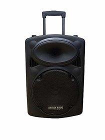 British Audio multipurpos S12 Bluetooth dj Trolley Speakers