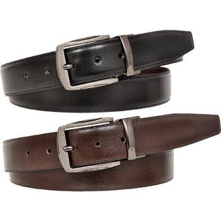 Reversible Genuine Leather Formal Belt for Men By Ajeraa