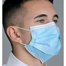 Disposable Non Woven Surgical Mask ( Pack of 10 mask) - Flumask
