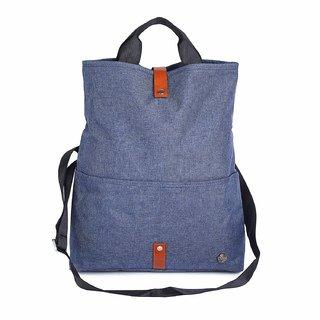 ModishOmbre Canvas Laptop Bag with Strap
