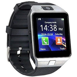 HatHot DZ09 Bluetooth Smart Watch With Touchscreen And Call Function (Silver)