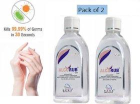 Alcorub Sanitizer 100 ml -  Pack of 2