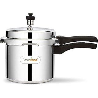 Greenchef 3 L Pressure Cooker  (Aluminium)
