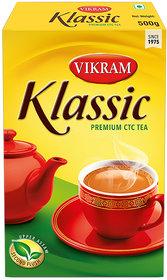 Vikram Klassic Premium CTC Leaf Tea 500 Gram Pack