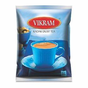 Vikram kadak Dust Tea Strong Bold and Rich flavour perfect morning tea 500 Gram Pack
