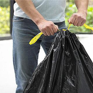 Compostable Roll 17x19 Custom Packing Trash Plastic Black Garbage Bag Pack Of 12 Box
