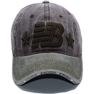 Da Teen Unisex Snap Back Adjustable Baseball NB Brown Sports Outdoors Hat Caps