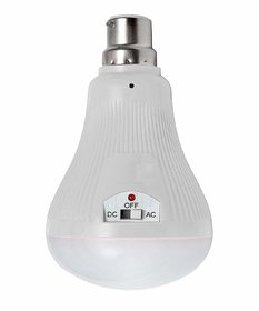18 W Inverter LED AC/DC Bulb, Emergency Bulb  Auto On (2-3 hrs Backup, Rechargeable Emergency Light)