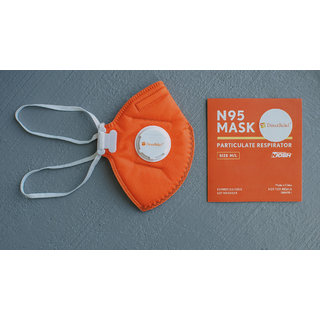 Aaand N-95 SURGICAL MASK Pack of 3 (Colors May Vary)
