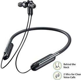 HatHot Samsung U Flex In-Ear Bluetooth Headset With Mic  (Black)