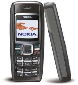 Refurbished Nokia 1600 Black Mobile Phone (6 Months, WarrantyBazaar Warranty)