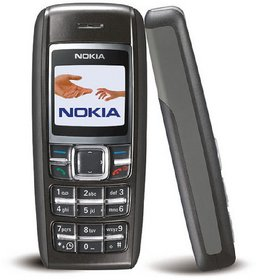 Refurbished NOKIA 1600 Black Mobile Phone With 6 Months Seller Warranty