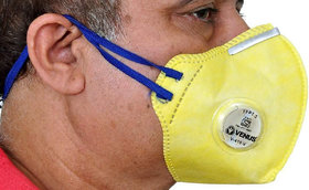 Venus Anti Pollution Mask for Men Women V-410-V N95 pm 2.5 Air Masks Reusable