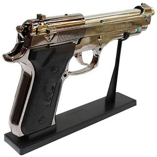 Mannat Mouser Gun Lighter Cigarette Lighter 9Mm