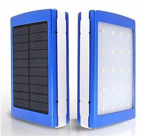 Solar Power Mobile / Tablet/ Camera Charger Portable LED Bank Flashlight / Lamp