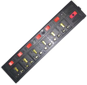 6 socket 6 switch 1.5Mtr wire Extension Board computer board Electric Board
