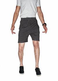Kothari Men's Brown Printed Bermuda Short