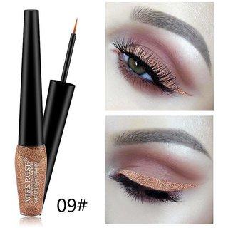 Miss Rose #9 Liquid Glitter Eyeliner Long Lasting Waterproof Shimmer Women Sexy Eyes Makeup