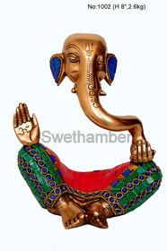 Brass Unique Modern Ganesha for Decorative