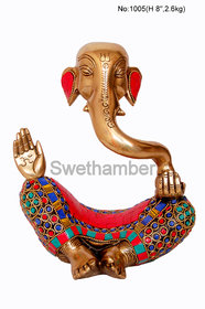 Brass Modern Ganesha